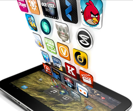 apps, tablets