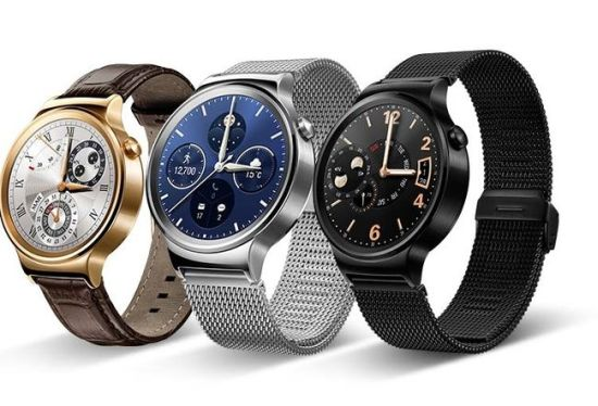 Huawei Watch: fraaie, ronde Android Wear-smartwatch ...